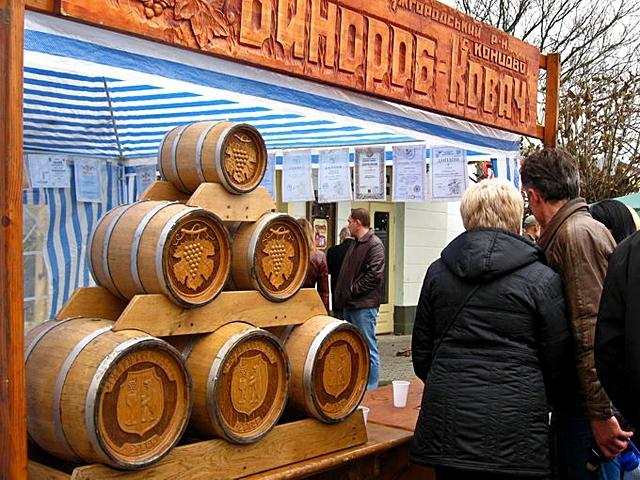Куди поїхати відпочивати в листопаді: Свято молодого вина «Закарпатське Божоле», Ужгород