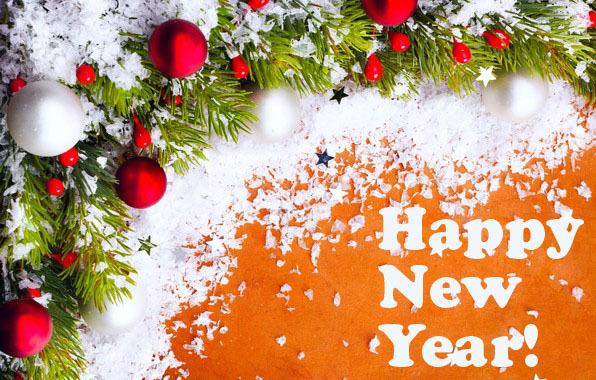 Яркие открытки на Новый год