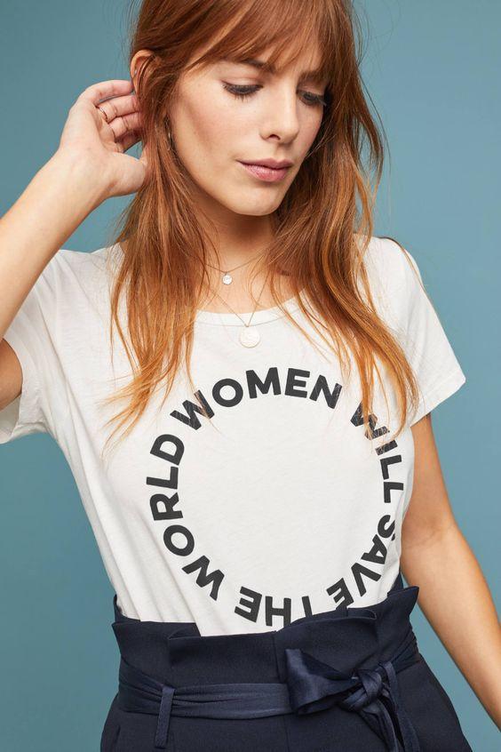 Вещи с феминистскими лозунгами