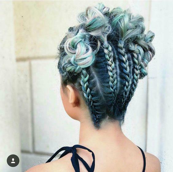 Зачіски на Хеловін 2017
