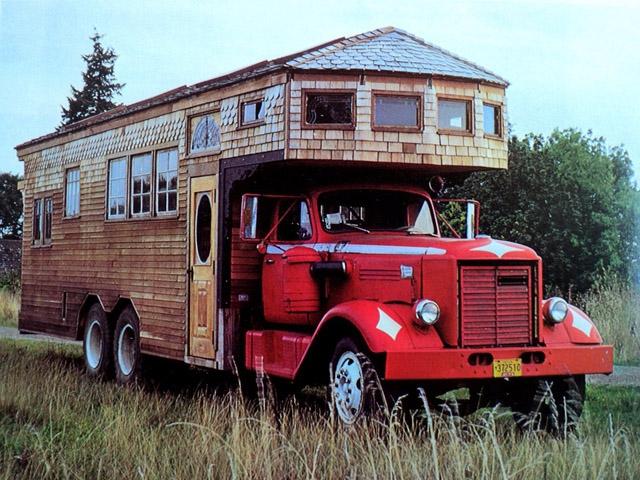 Оригінальні будинку на колесах: Rolling Homes Jane Lidz