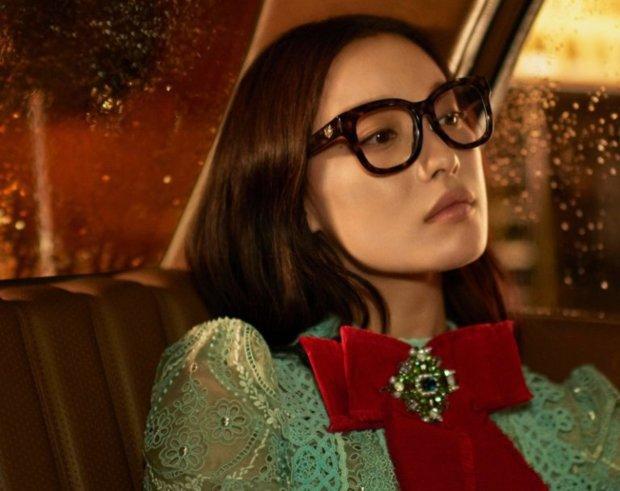 Новый формат: китайская актриса представляет европейский модный дом