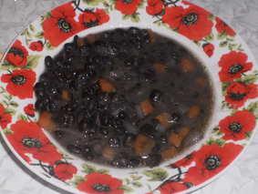 Чёрная фасоль. Суп из чёрной фасоли.