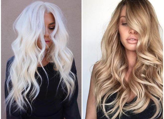 Модне фарбування на літо для блондинок