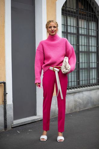 С чем носить свитер под горло осень-зима 2020/21