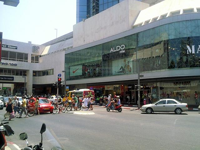 Що купити в Тель-Авіві: торговий центр Дізенгофф