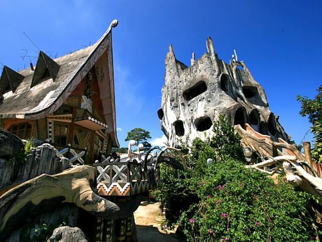 Самые необычные дома в мире: «Crazy house»,  Вьетнам