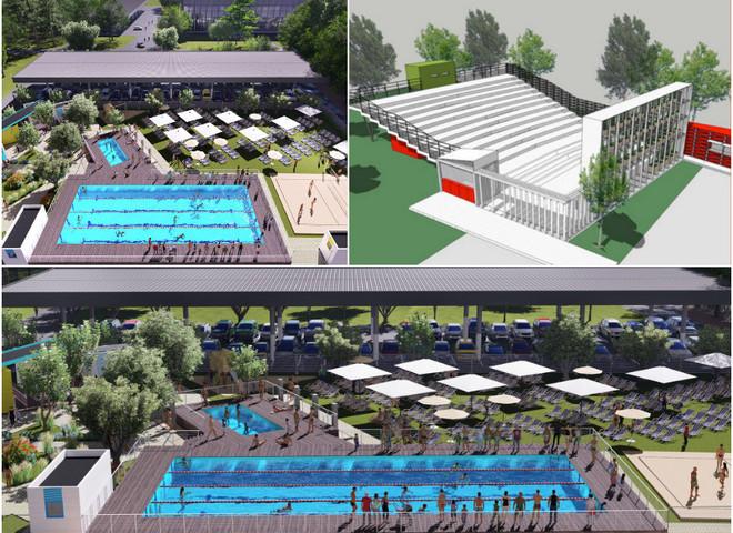 Модернизированная ВДНХ: бассейны и кинотеатр под открытым небом, парк качелей и веломаршруты