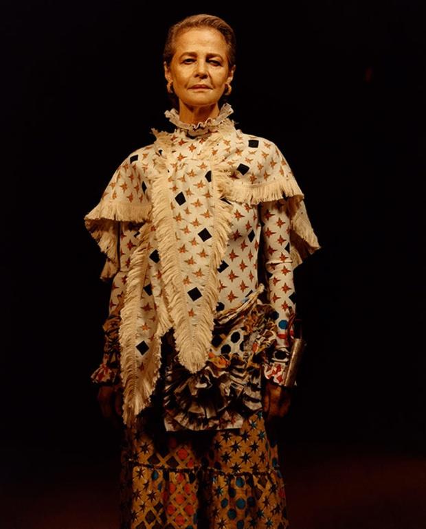 70-летняя модель стала лицом модного бренда