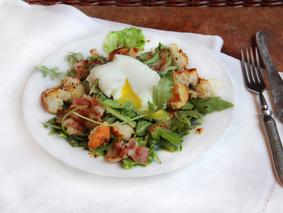 Лионез: французский салат из Лиона