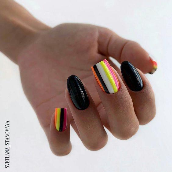Різна довжина нігтів — новий тренд в манікюрі