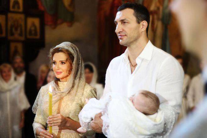 Оксана Марченко и Владимир Кличко