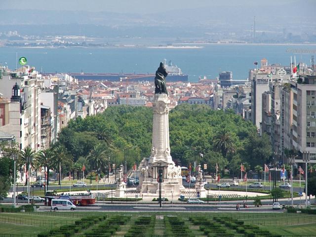 Достопримечательности Лиссабона: площадь Помбаль