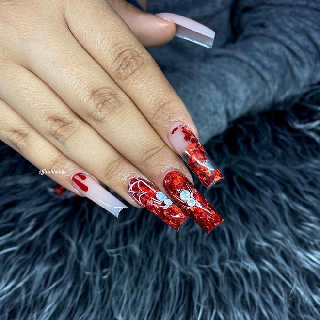 Маникюр на Хэллоуин: необычный дизайн  ногтей