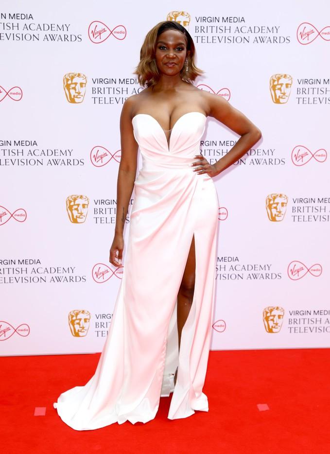 Оті Мабусе на BAFTA TV Awards 2021