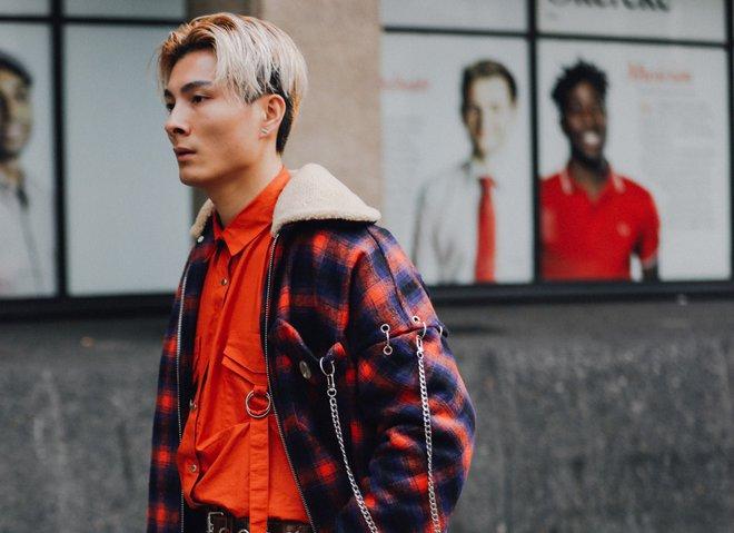 Главные стритстайл-образы с Недели мужской моды в Лондоне