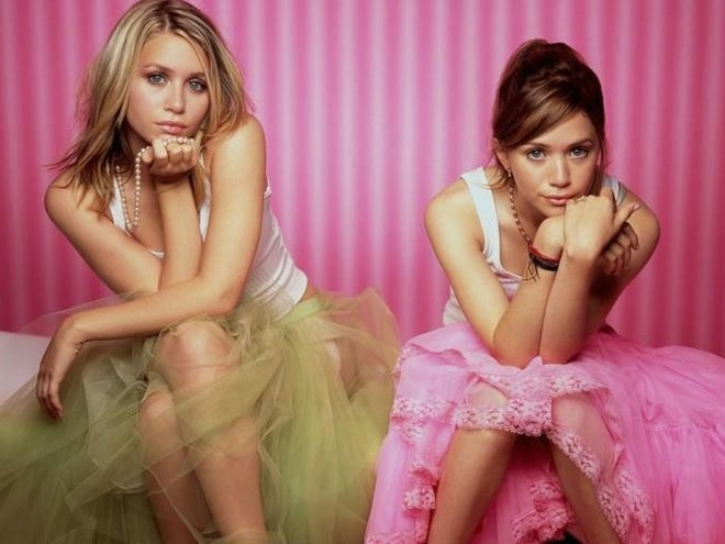 Olsen twins smoking