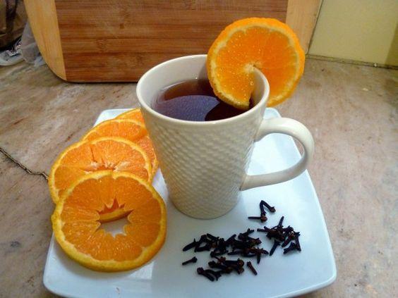 кава з апельсином