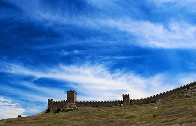 Украина историческая - Генуэзская крепость