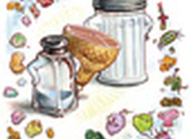 Диета с повышенным содержанием соли