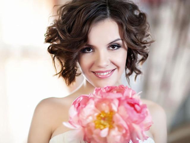 Эрика в свадебной фотосесии