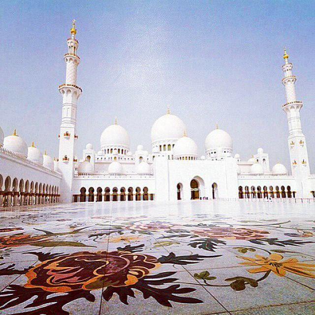 Абу-Дабі пам'ятки в Instagram