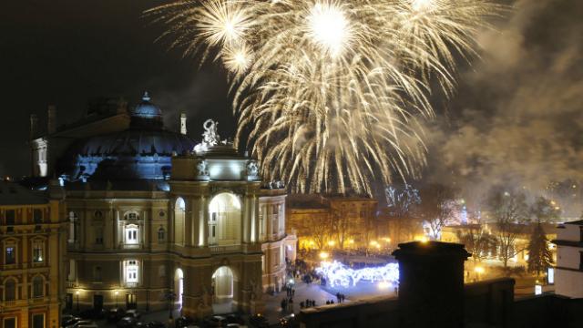 Куда поехать на Новый год 2017 в Украине?