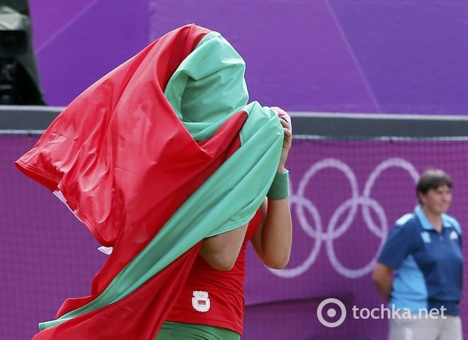 Білоруська спортсменка на Олимпиаді