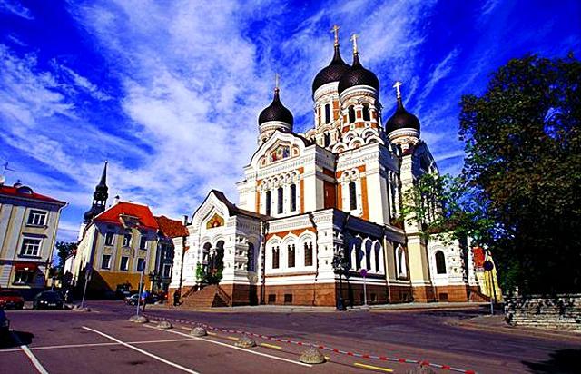 Достопримечательности Таллинна: Собор Александра Невского