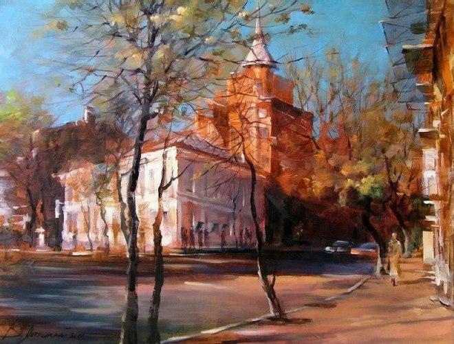 Київ очима художника: пейзажі Віталія Петровського