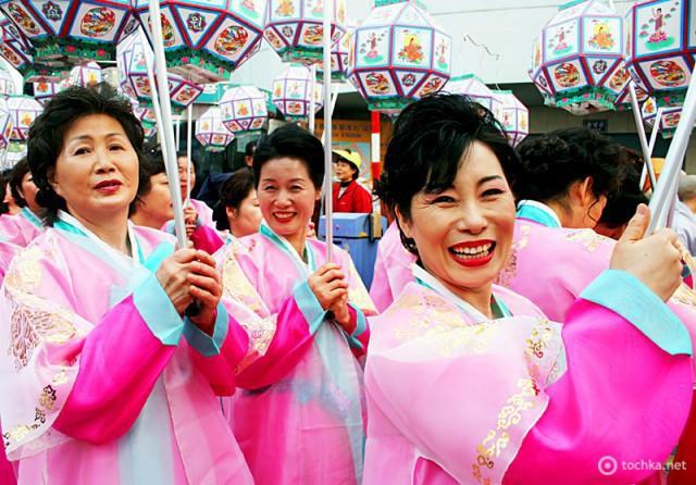 Країни, де не святкують Новий рік. Південна Корея