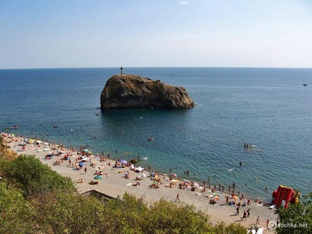 Путешествие Украиной: пляжи ЮБК