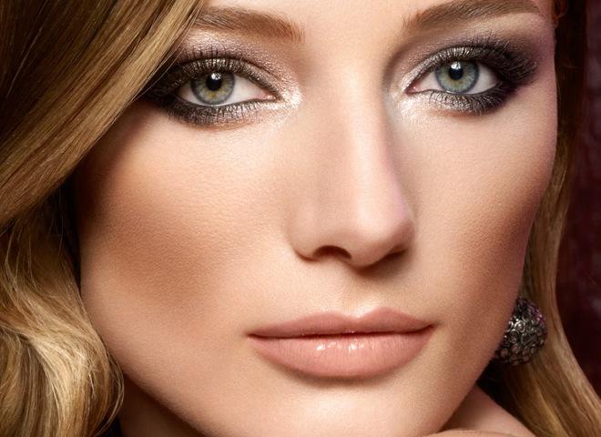 макияж для каре зеленых глаз пошаговое