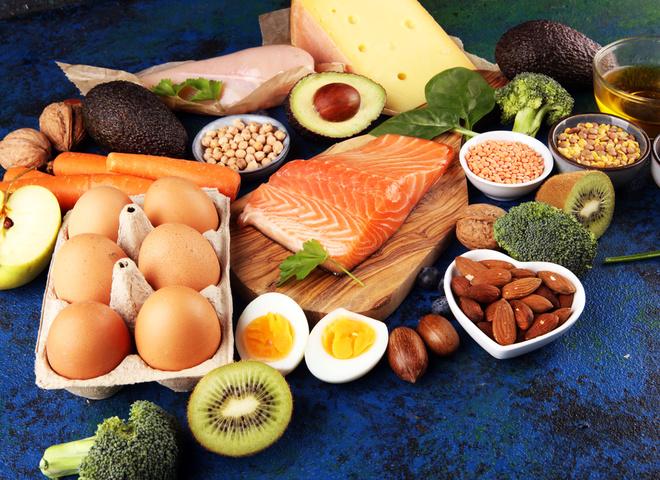 Продукты с большим количеством витаминов для бодрости
