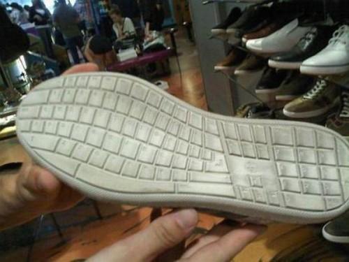 Обувь сисадмина))