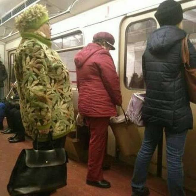 Мода метро. Марихуана Ивановна