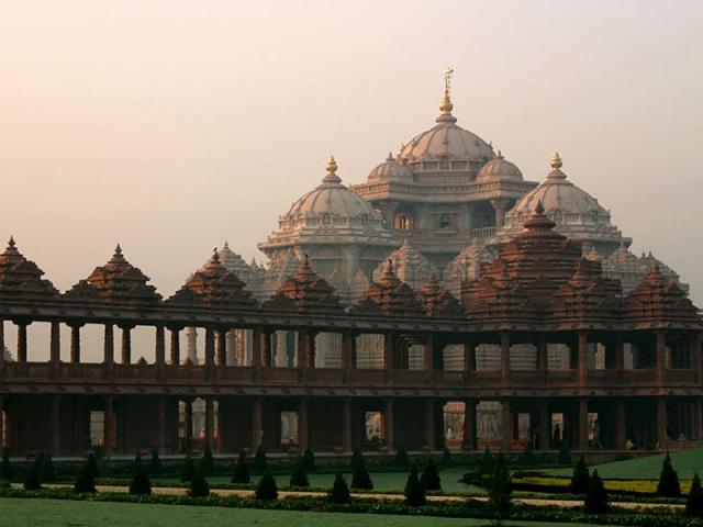 Достопримечательности Дели: храм Акхшардам