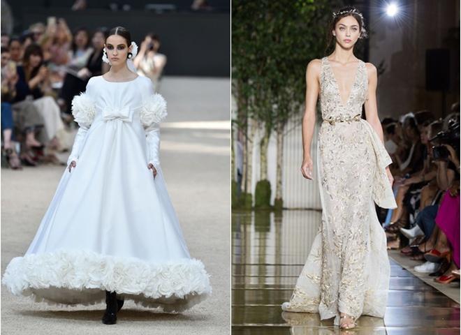 2eba7127b8dfd6 Весільні сукні на осінь 2017: модні образи з подіумів - tochka.net