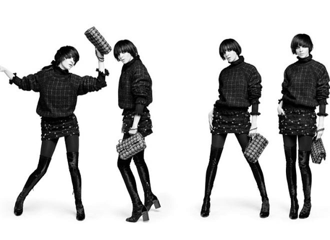 Мариякарла Босконо в динамичном кампейне Chanel pre-fall 2016