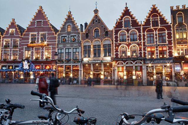 5 первых рождественских базаров: Брюгге
