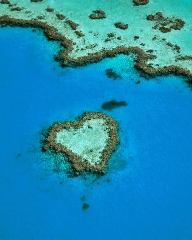 Романтичні місця у вигляді серця