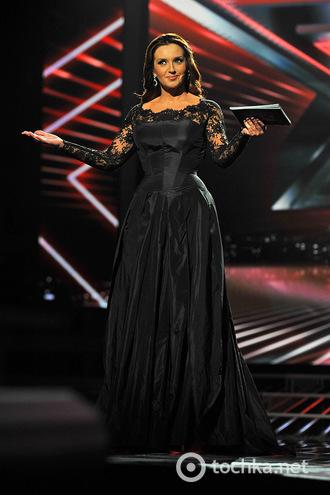 Х-фактор платья Оксаны Марченко