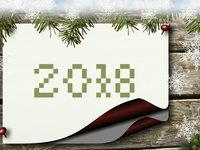 Обои к Новому году 2018