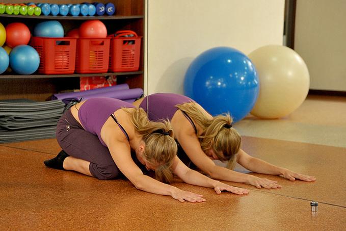 Майстер-клас з фітнесу: розвантажь спину