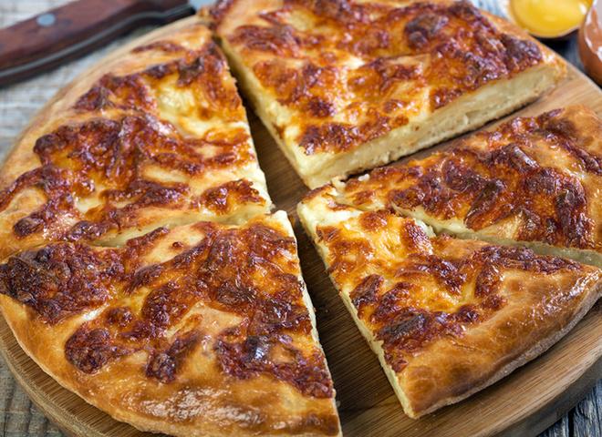 Хичіни з сиром, тісто, сир