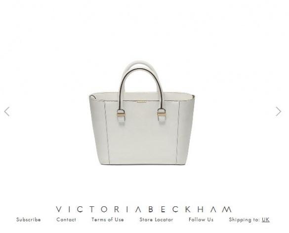 сумка Вікторії Бекхем