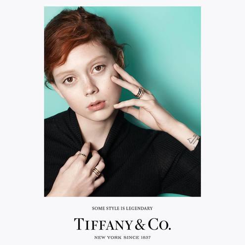 Натали Вестлинг  для Tiffany&Co