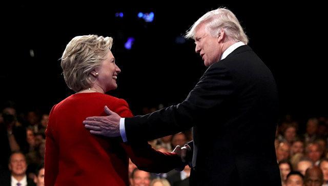дебати Клінтон і Трампа