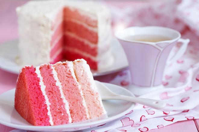 Торт до Дня святого Валентина своїми руками