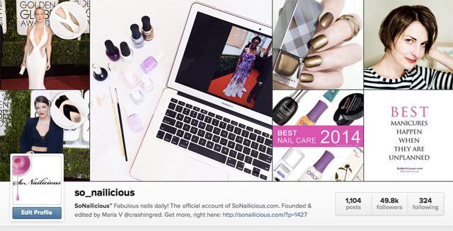 5 лучших Instagram-аккаунтов по маникюру